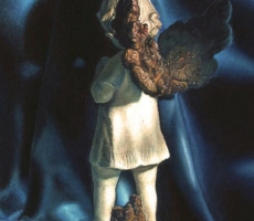 Antoine Cavalier - Peinture hyperrealiste a l huile sur toile12 -  40x50cm -  Seul  - Tableau vendu