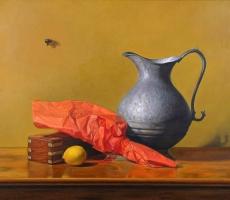 Antoine Cavalier - Peinture hyperrealiste a l huile sur toile 5 -  50x40cm -  Collection privee